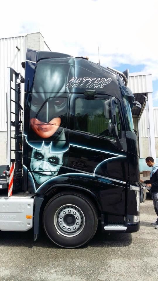 motivlack batman truck